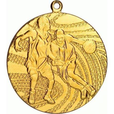 Medaile basketbal zlatá