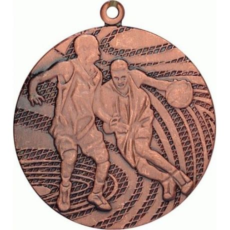 Medaile basketbal bronzová