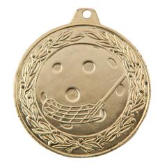 Medaile florbal zlatá IL50/Z