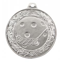 Medaile florbal stříbrná IL50/S