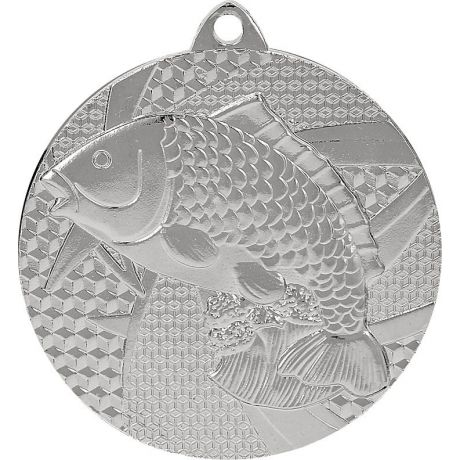 Medaile ryba stříbrná