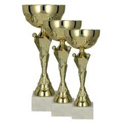 Sada tří pohárů W1072 + ŠTÍTKY ZDARMA