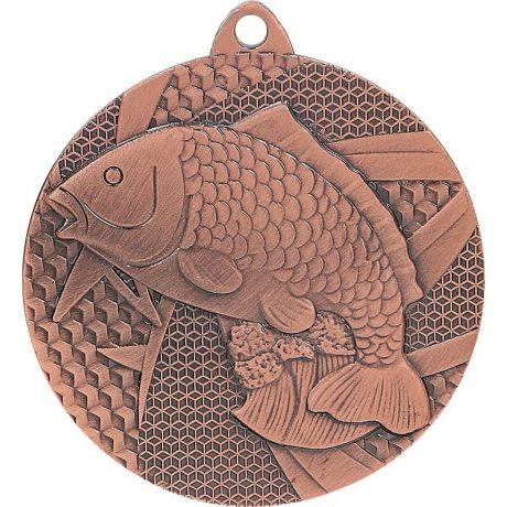 Medaile ryba bronzová