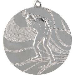 Medaile biatlon stříbrná