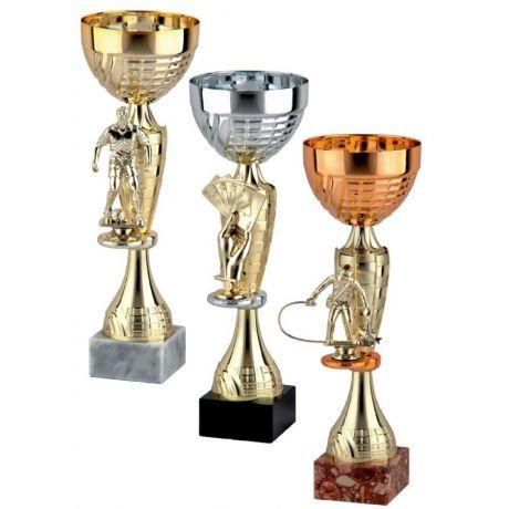 Sada tří pohárů se soškou 9219/ABC