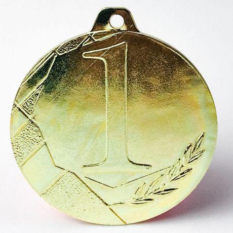 Medaile ZLATÁ s číslem 1