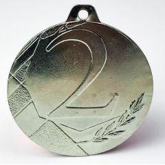 Medaile STŘÍBRNÁ s číslem 2