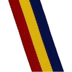 STUHA červeno -žluto-modrá