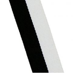 STUHA černo-bílá