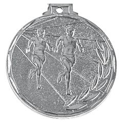 Medaile atletika stříbrná