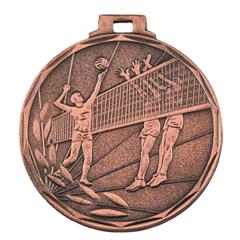 Medaile volejbal bronzová E8/B