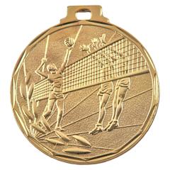 Medaile volejbal zlatá E8/Z