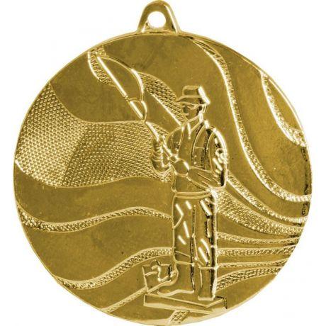 Medaile rybář zlatá
