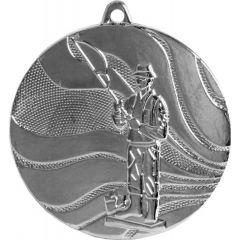 Medaile rybář stříbrná