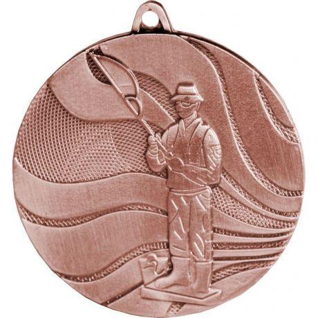 Medaile rybář bronzová