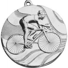 Medaile cyklistika stříbrná