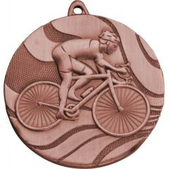 Medaile cyklistika bronzová
