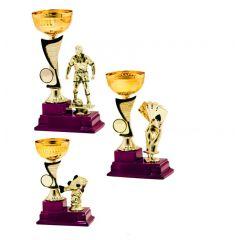 Sada tří pohárů 9922