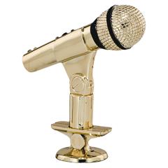 Soška mikrofon