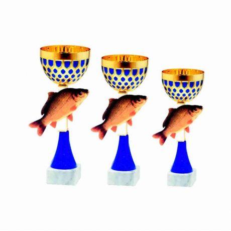 Sada pohárů rybáři