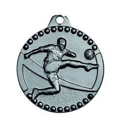 Medaile stříbrná fotbal IL105/S