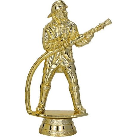 Soška hasič zlatá
