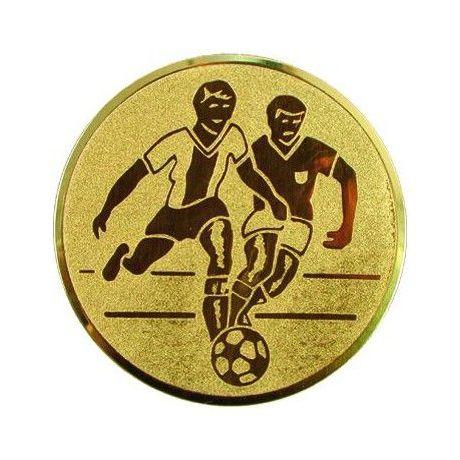 Emblém fotbal zlatý