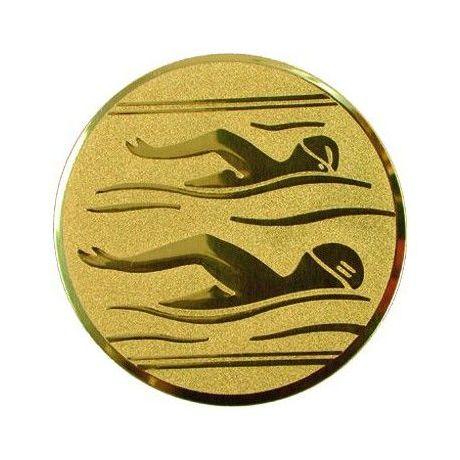 Emblém plavání zlatý