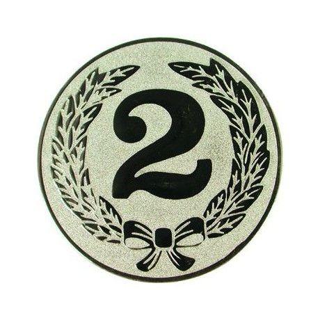 """EMBLÉM STŘÍBRNÝ """"2"""""""
