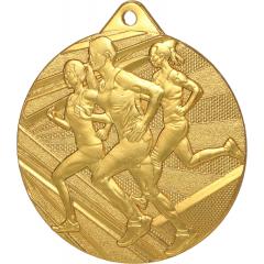 Medaile zlatá ME004/Z + STUHA ZDARMA